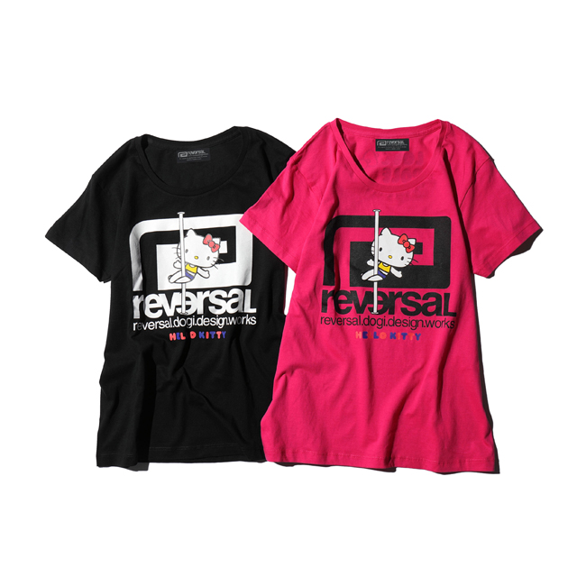 HELLO KITTY×rvddw POLEDANCE TEE