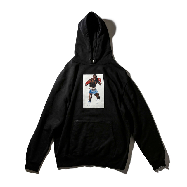 CLUBBER LANG PORTRAIT SWEAT PARKA
