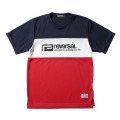 SWITCH COLOR MESH JERSEY TEE
