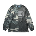 1/2 CAMO JERSEY LONG SLEEVE