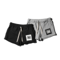 SQUARE BACK LADYS SWEAT SHORTS