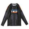 RETRO FUTURE RASH GUARD
