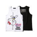 HELLO KITTY×rvddw POLEDANCE TANK TOP