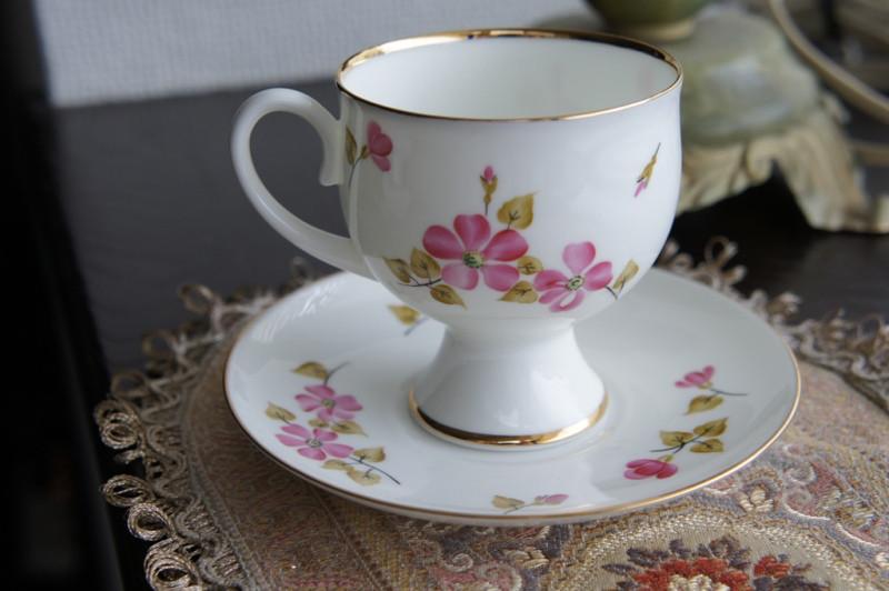 インペリアルポーセレン(ロマノーソフ) 妖精のために コーヒーカップ&ソーサー