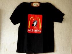 ロシアン・パロディTシャツ McLenin's マクレーニンズ /男女兼用 【クリックポスト送付可】