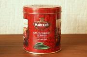 ロシアМАЙСКИЙ(マイスキー)社  エフゲニー・オネーギン 円形缶 セイロンティー 90g