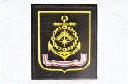 ロシア海軍 北方艦隊 袖章パッチ(ワッペン) 常勤服用  ベルクロ付 【クリックポスト送付可】