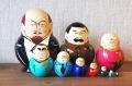 ロシア最高権力者(大統領&書記長) レーニンバージョン 10ピースマトリョーシカ