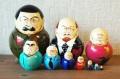 ロシア最高権力者(大統領&書記長) スターリンバージョン 10ピースマトリョーシカ