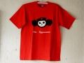 ロシアンTシャツ ロシアの革命家!!チェ・ブラーシカ (赤) 男女兼用 【レターパックライト送付可】