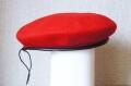 ロシア軍ベレー帽<赤> /憲兵(軍警察)ВП(VP) 【クリックポスト送付可】