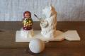 バガロツカエ・木のからくりおもちゃ マトリョーシカを描くクマ