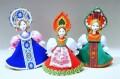 カラフル!ロシア民族衣装人形 Sサイズ