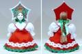 カラフル!ロシア民族衣装人形 Sサイズ /13-14cm 【クリックポスト185円送付】