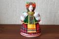 カラフル!ロシア(ウクライナ)民族衣装人形 Mサイズ /15cm