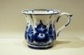 ロシアの陶器 グジェーリ焼 マグカップ Aタイプ /φ10×9.5cm