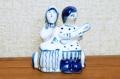 グジェーリ陶器人形 恋人たち /8.8×10.5cm