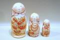 イリーナ&イリーナ作 マトリョーシカ 5ピース <春の花たち> /12.3cm【送料無料】