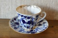 インペリアルポーセレン(ロマノーソフ) つりがね草 コーヒーカップ&ソーサー