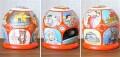 ニキーチン工房作 「ソビエト連邦 СССР」 ドーム型マトリョーシカ(S) 人形7+箱1ピース /10.5cm 【送料無料】
