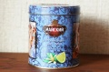 ロシアМАЙСКИЙ(マイスキー)社  エフゲニー・オネーギン 円形缶 フレーバーティー(ベルガモット) 90g 【軽減税率8%商品】