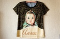 ロシアのチョコレート アリョンカ Алёнка 公式Tシャツ 女性用 【クリックポスト送付可】