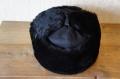 【ロシア軍正規品/新品】 海軍仕様 耳あて付ロシアン帽子 ウシャンカ 羊毛仕様/黒 【送料無料】