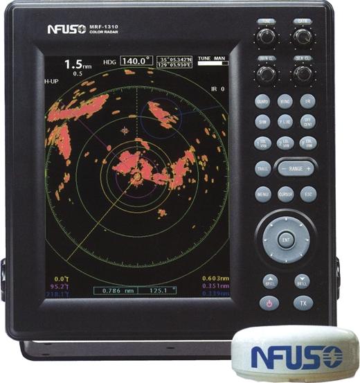 FUSO(MRF-1310)10.4型カラ-液晶レ-ダ-(レド-ム型4KW)