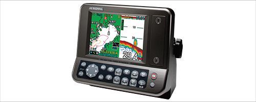 ROYAL/RF-HG5720/5.7型GPSプロッタ-魚探(50/200KHz)500W