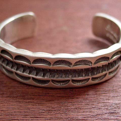 Indian Jewelry シルバーバングル 1点モノ