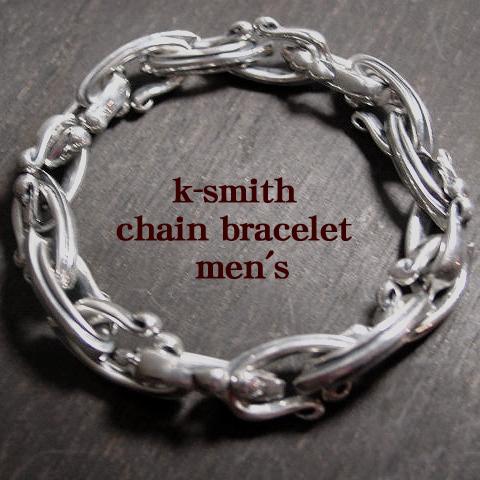 k-smith シルバーチェーンブレスレット