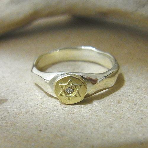 オーダーメイド 婚約指輪 ホワイトゴールド