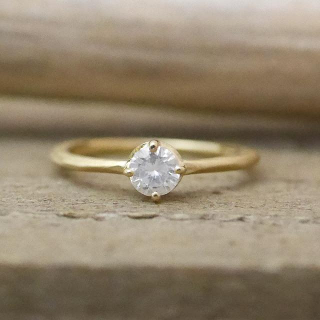 オーダーメイド 婚約指輪 18金
