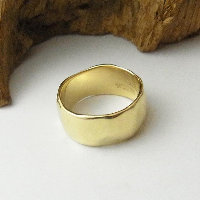 オーダーメイド 指輪 イエローゴールド