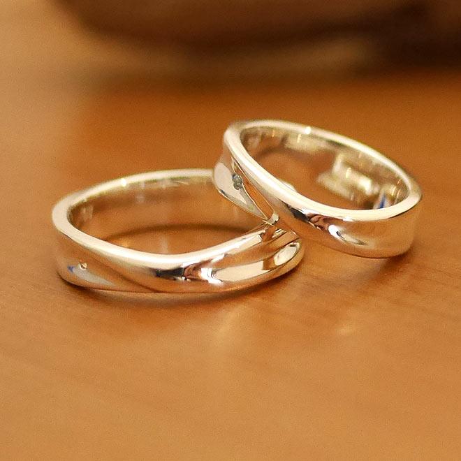 オーダーメイド結婚指輪 シルバー