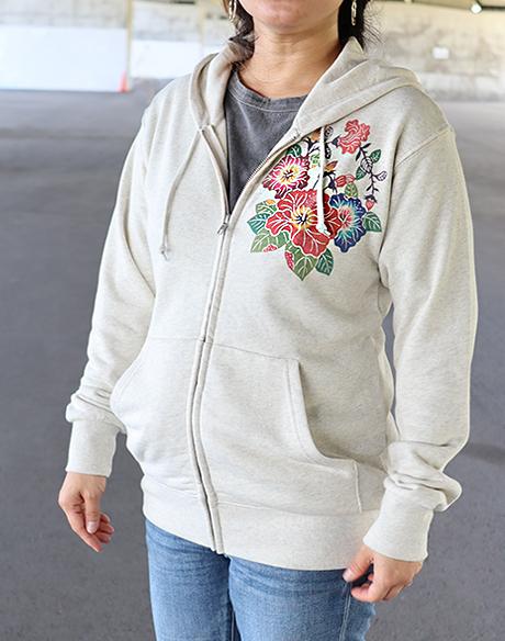 パーカー沖縄花丸