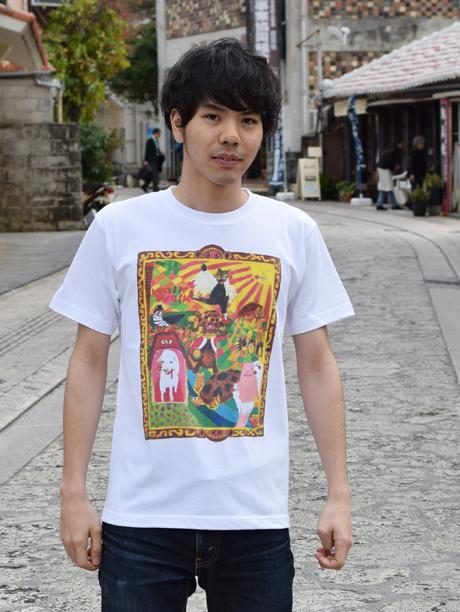 沖縄Tシャツ ぴらすオールスタ―ズ