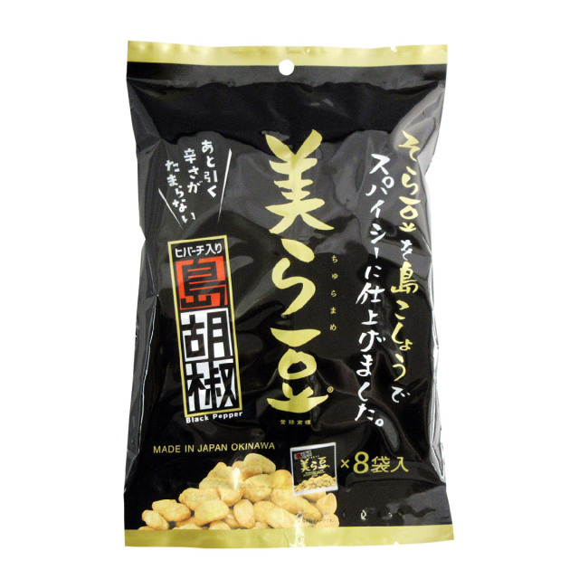 美ら豆 島胡椒 8袋入 単品