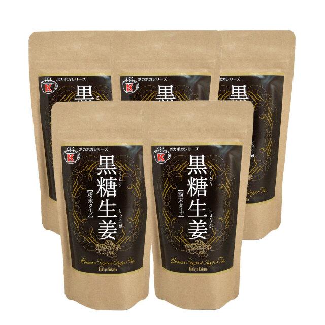 黒糖生姜 200g ×5