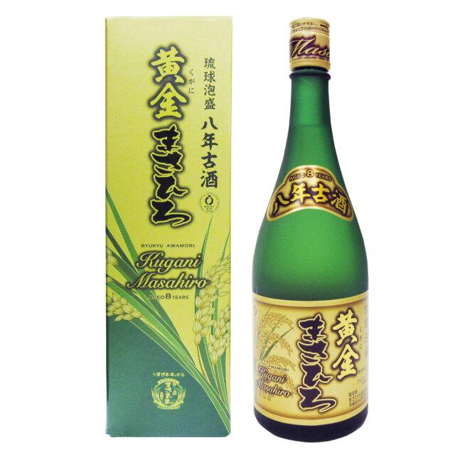 八年古酒 黄金まさひろ 30度 720ml【箱有り】