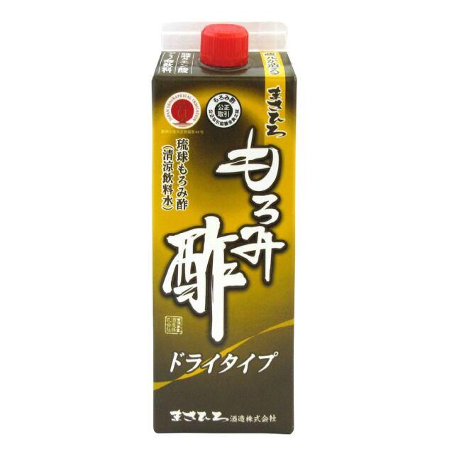 まさひろ もろみ酢 ドライタイプ(無加糖) 紙パック 900ml