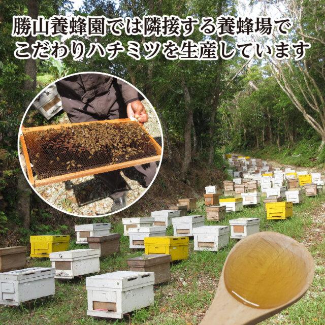 勝山養蜂園 農薬不使用 青切りシークヮーサー