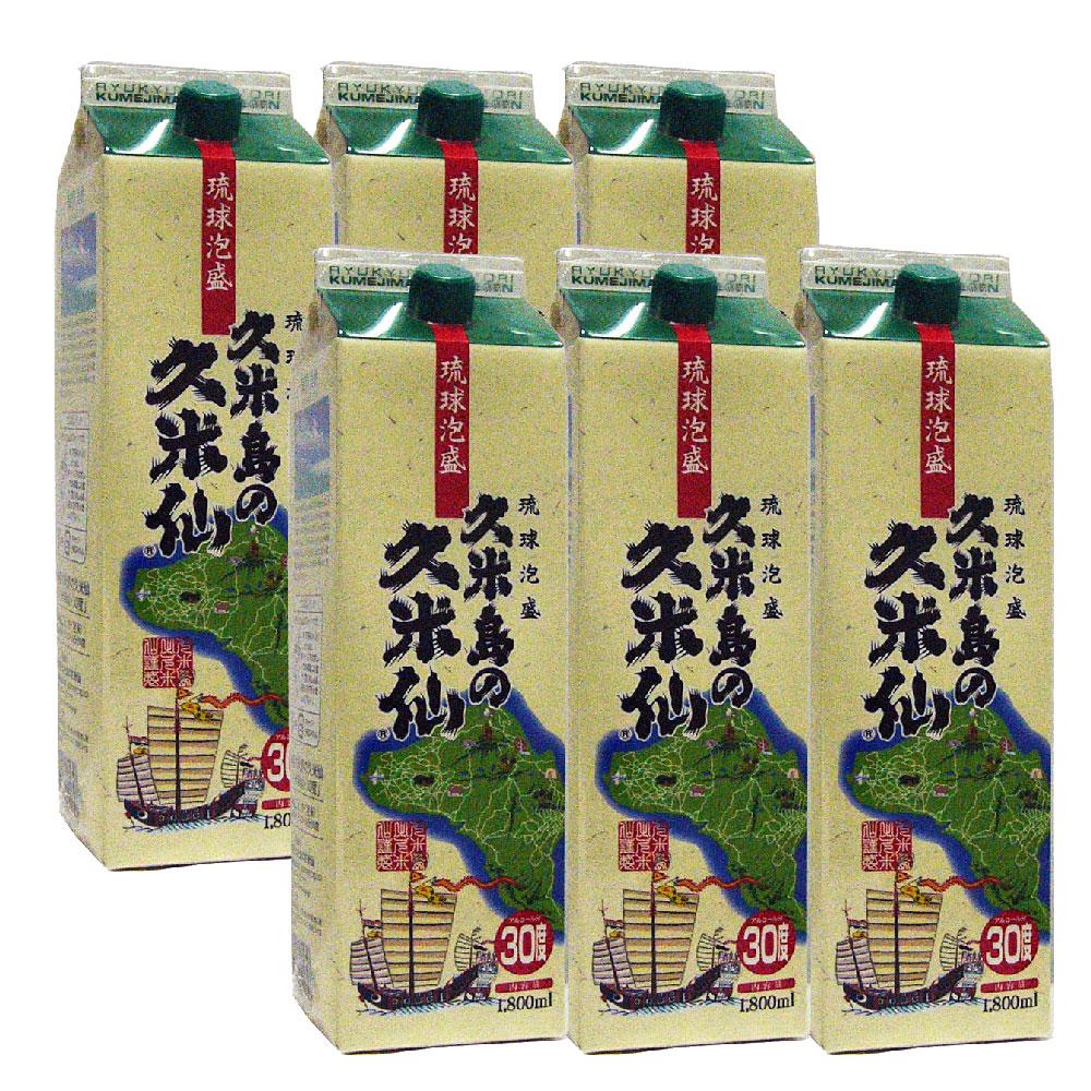 久米島の久米仙 30度 1800ml 紙パック