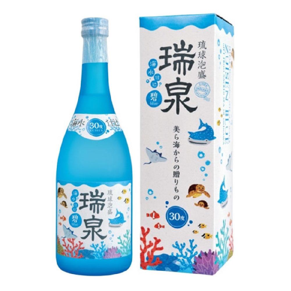 瑞泉 碧 -blue- 30度 720ml