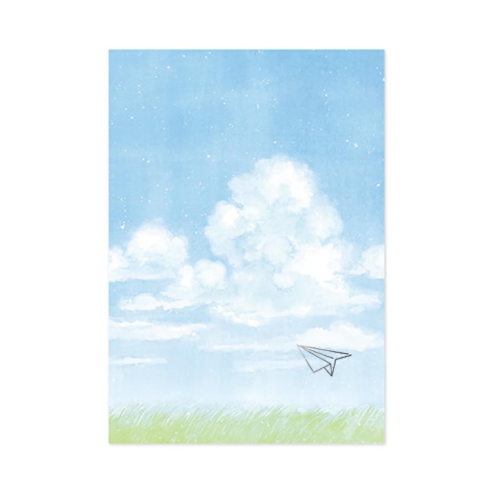 空ポストカード