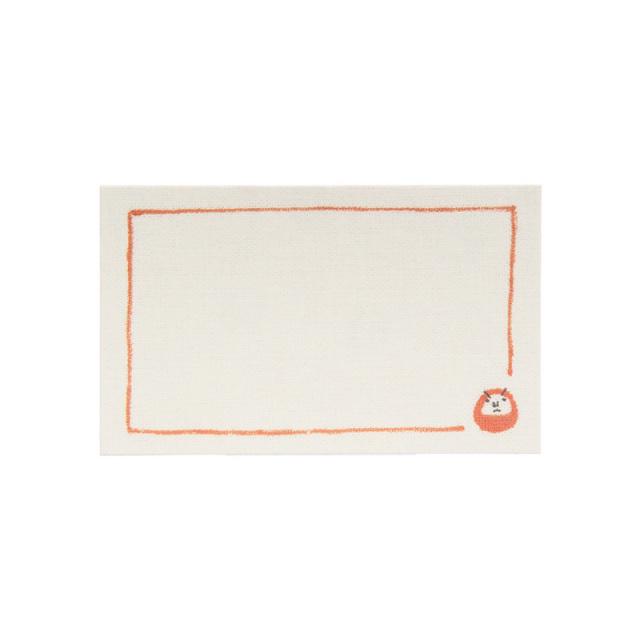 MC-33:名刺サイズメッセージカード15枚パック:だるま【クロネコDM便対応】