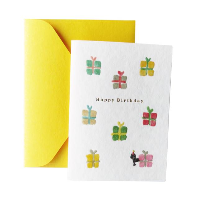PBG-02:パターン・バースデーグリーディングカード プレゼント〔OZ〕