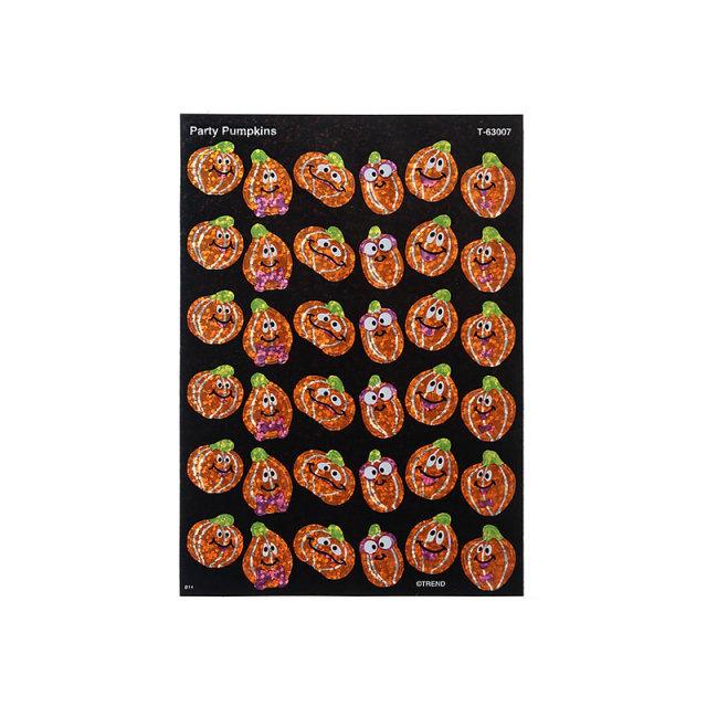 【限定】T-63007:アメリカンハロウィンシール:ホログラム:Party Pumpkins【クロネコDM便対応】