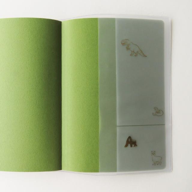 アニマルパレード手帳カバー