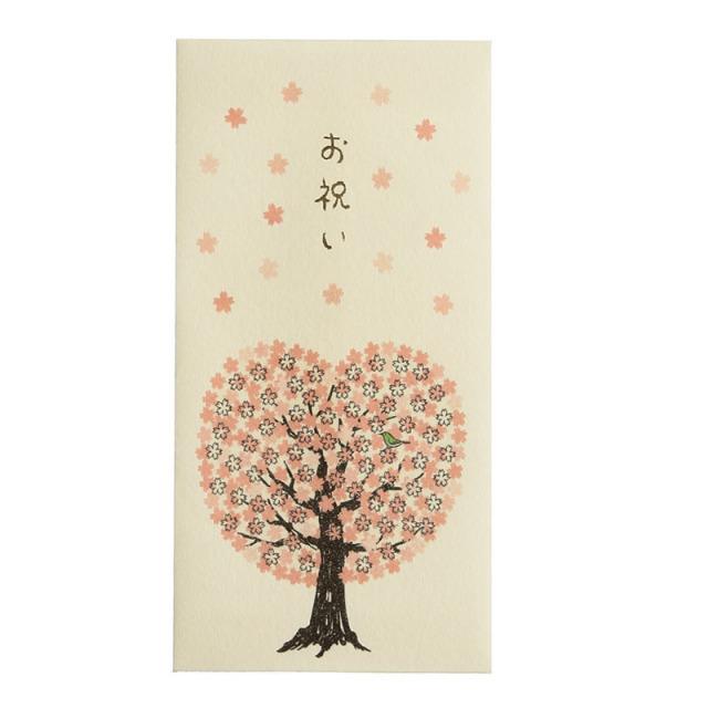 HLPB-04:春柄金封:桜の木(表)